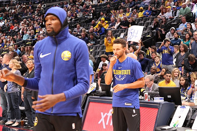 Steph Curry et Kevin Durant